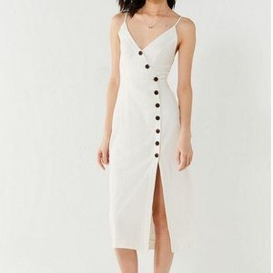 Urban Outfitters Button Down Midi Dress